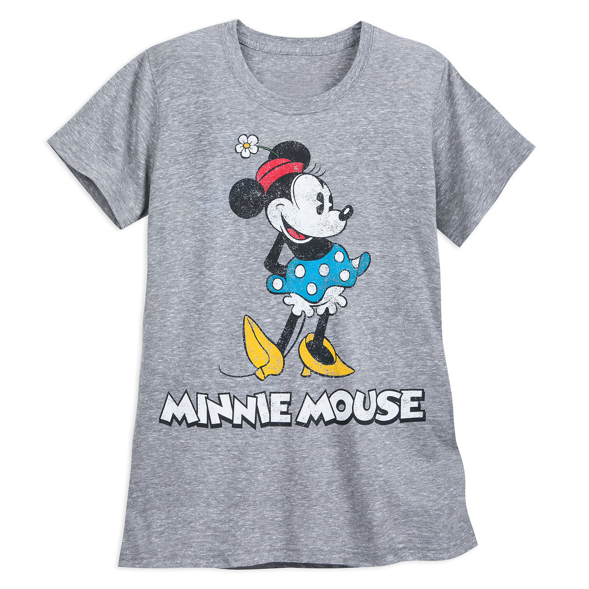 31576aed Product Image of Minnie Mouse Classic T-Shirt for Women - Gray # 1
