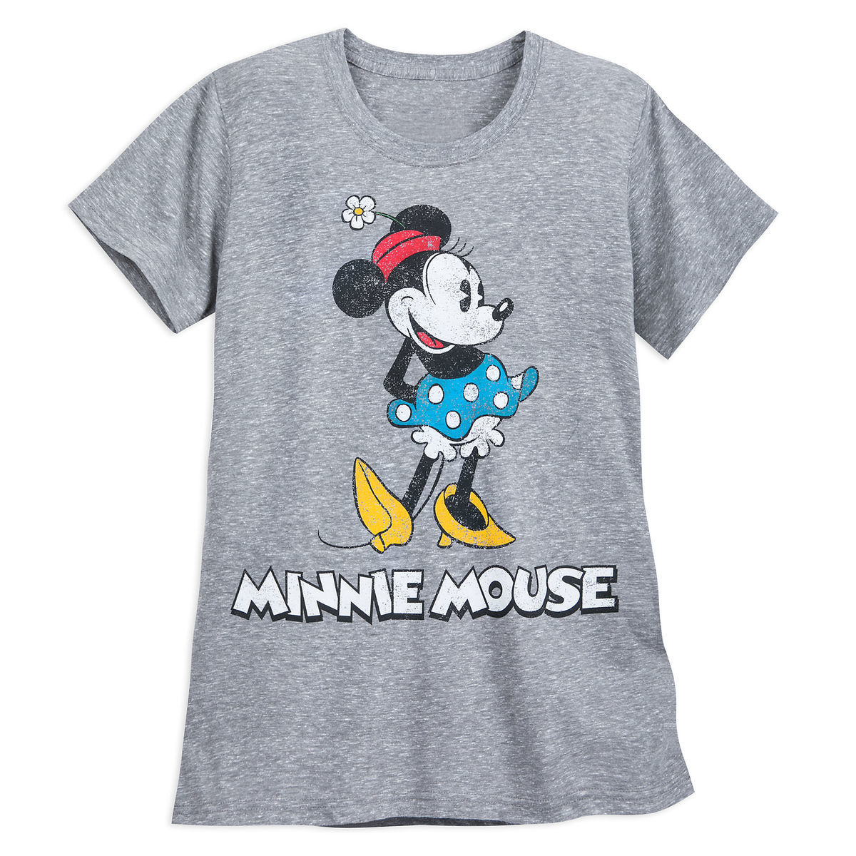 9b35a063511 Product Image of Minnie Mouse Classic T-Shirt for Women - Gray   1