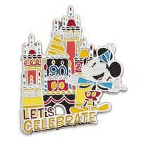 Image of Mickey Mouse ''Let's Celebrate'' Pin # 1