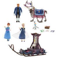 Image of Olaf's Frozen Adventure Mini Sleigh Play Set # 1