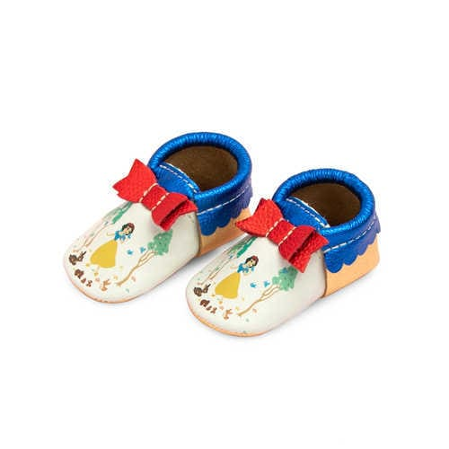 Disney Snow White Moccasins for Baby by Freshly Picked