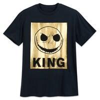 Jack Skellington Metallic T-Shirt for Men