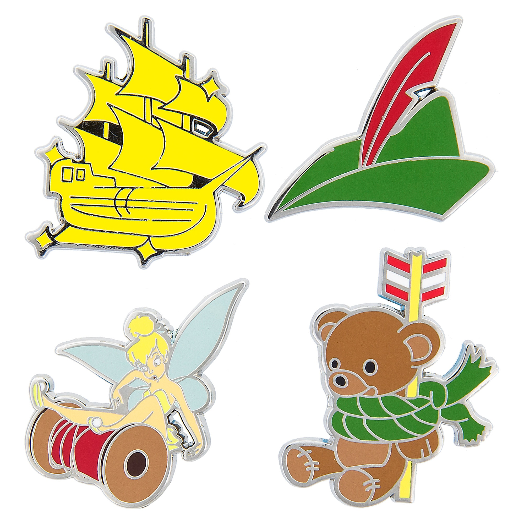 Peter Pan Pin Trading Booster Set