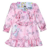 Image of Disney Animators' Collection Aurora Sleep Gown Set for Girls and Doll # 4
