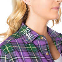 Image of Evil Queen Flannel Shirt for Adults by Cakeworthy # 4