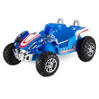 Image of Captain America Electric Ride-On Dune Buggy # 1