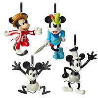 Image of Mickey Mouse Through the Years Mini Ornament Set 1 # 1