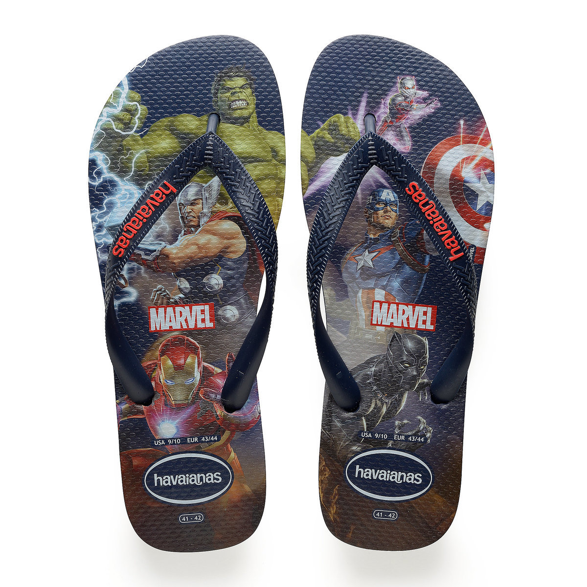 192f9d2e899a Product Image of Marvel s Avengers Flip Flops for Men by Havaianas   1