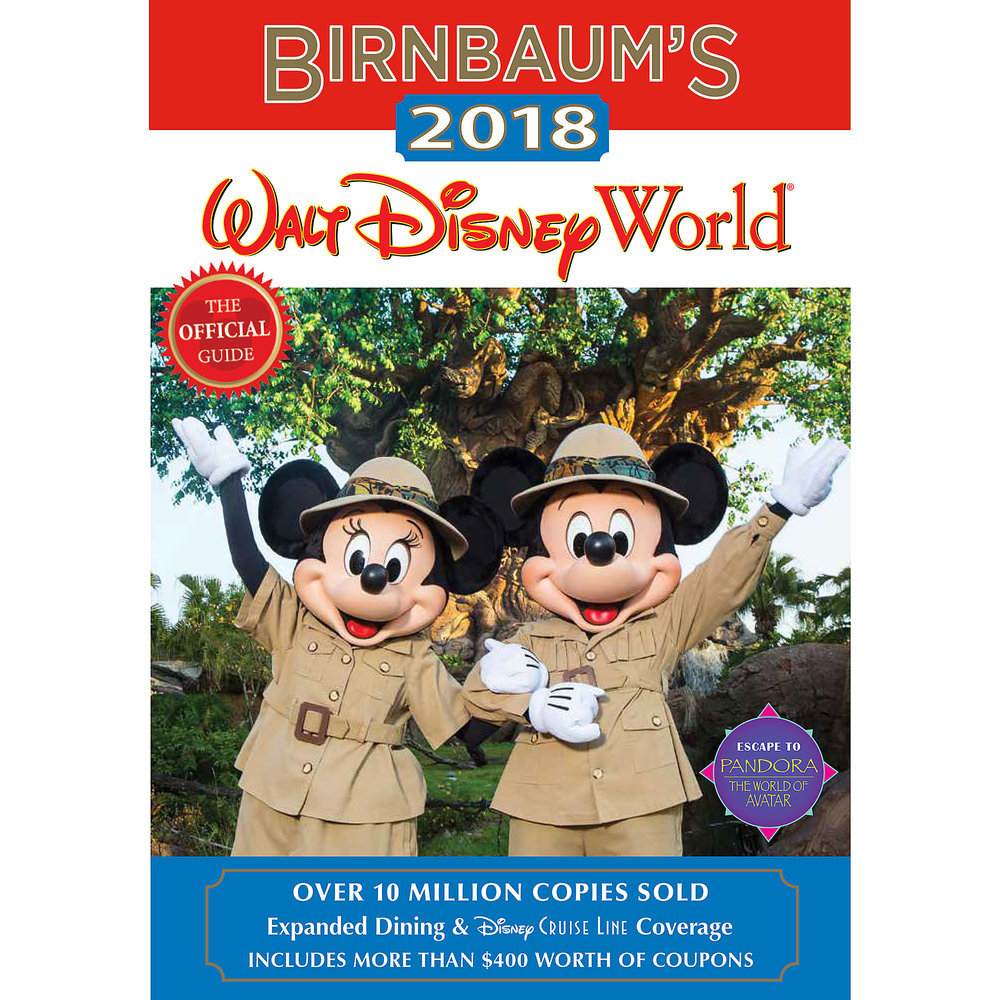 Birnbaum's 2018 Walt Disney World Guide Book