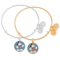 Image of Mickey Mouse Heart Shorts Bangle - Alex and Ani # 1