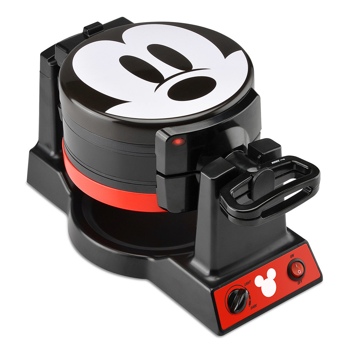 01ef2db93 Product Image of Mickey Mouse 90th Anniversary Double Flip Waffle Maker # 1