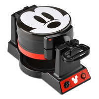 Image of Mickey Mouse 90th Anniversary Double Flip Waffle Maker # 1