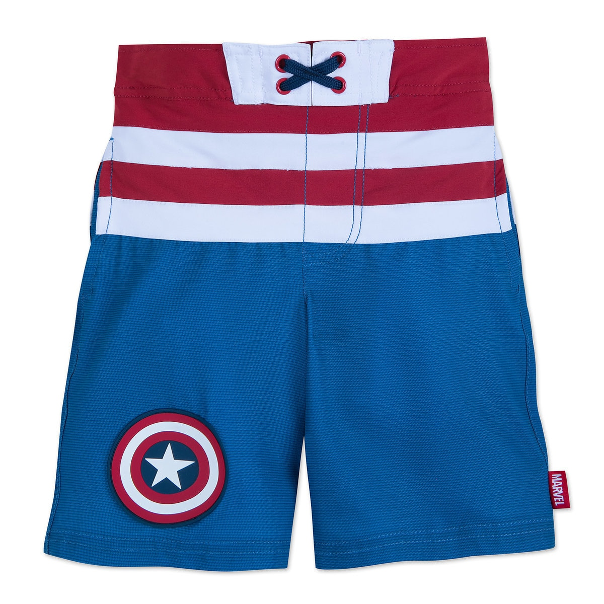 cb06479437 Product Image of Captain America Swim Trunks for Kids # 1