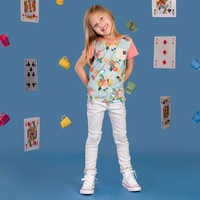 Image of Alice in Wonderland T-Shirt for Toddler and Kids by RAGS # 2