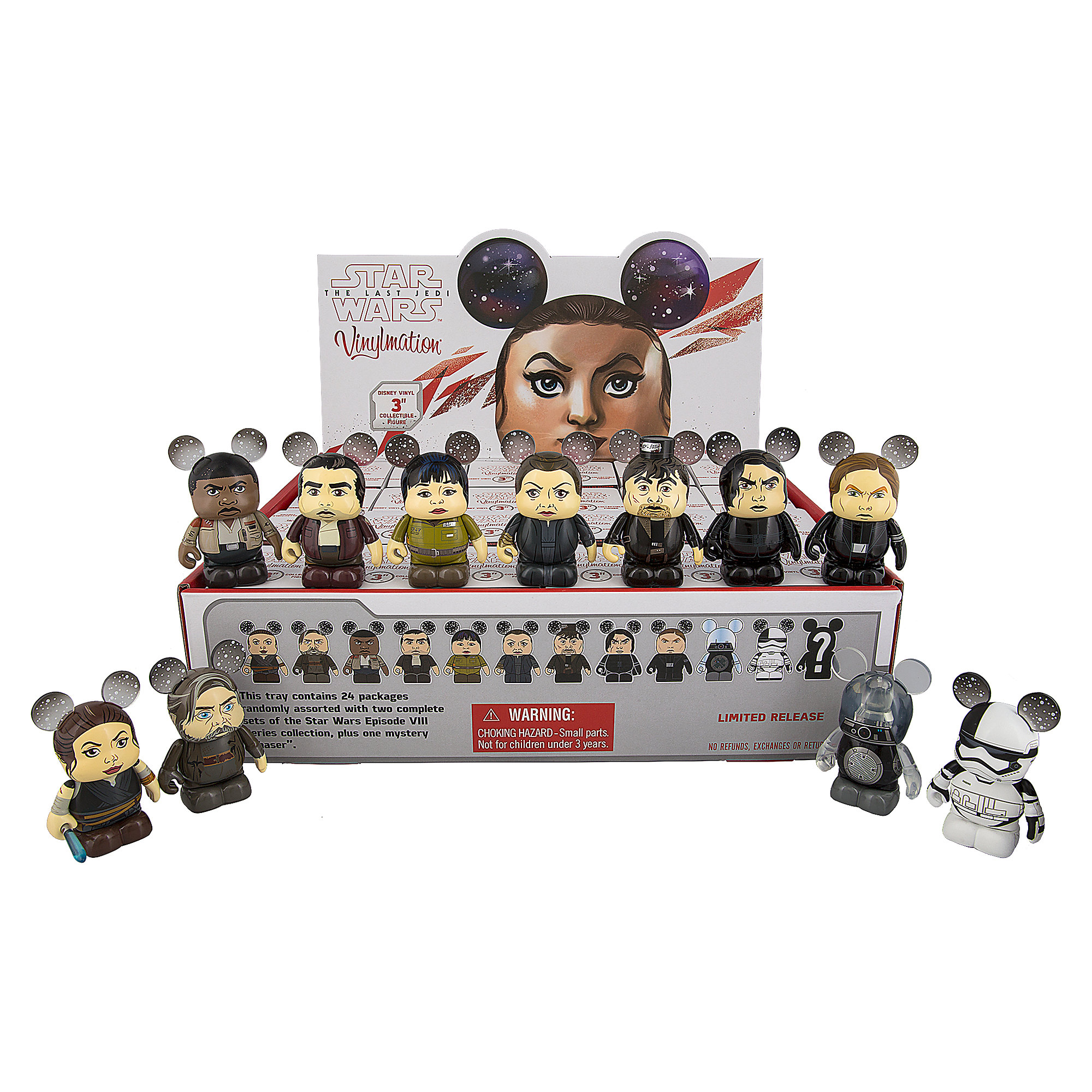 Vinylmation Star Wars: The Last Jedi Series Tray