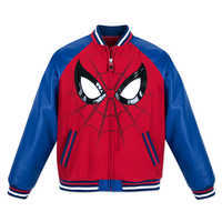 Image of Spider-Man Varsity Jacket for Boys # 1