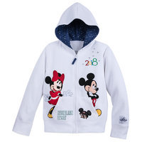 Image of Mickey Mouse and Friends Zip-Up Hoodie for Kids - Disneyland 2018 # 1