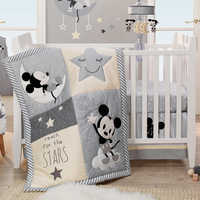 Image of Mickey Mouse Crib Bedding Set by Lambs & Ivy # 2