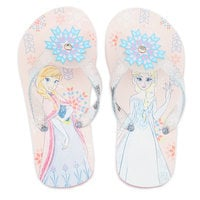 Anna and Elsa Flip Flops for Kids