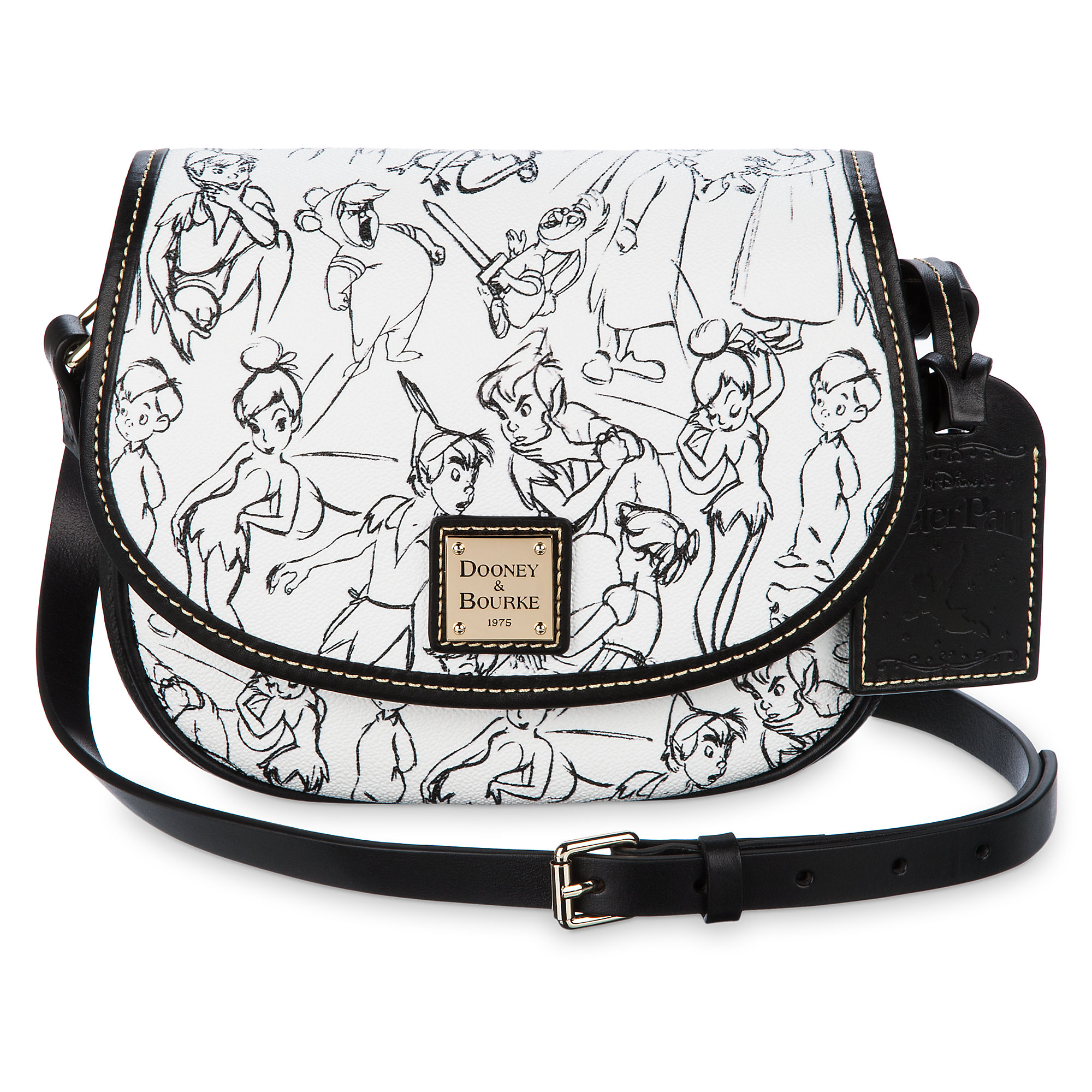 Peter Pan Hallie Crossbody Bag - Dooney & Bourke