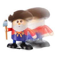 Image of Stinky Pete The Prospector Shufflerz Walking Figure - Toy Story 2 # 3