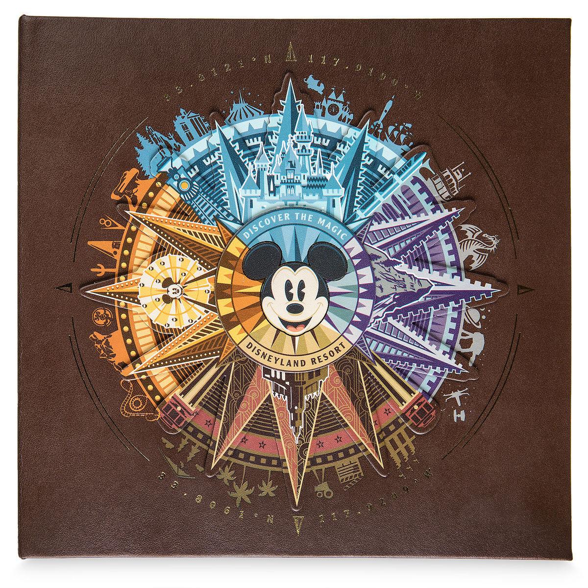 Mickey Mouse Compass Photo Album Disneyland Medium Shopdisney