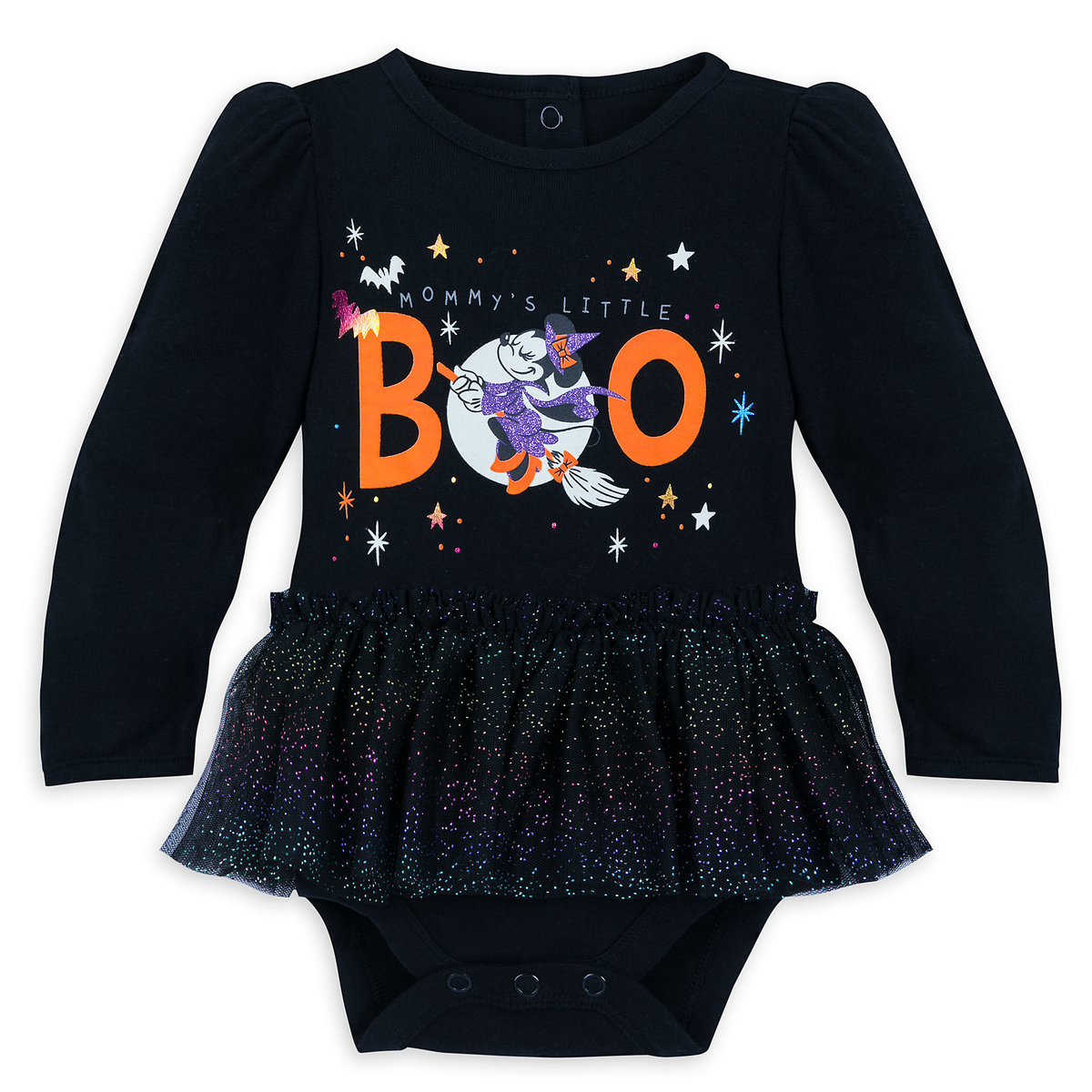1ac7e6e34d Product Image of Minnie Mouse ''Mommy's Little Boo'' Halloween Bodysuit ...