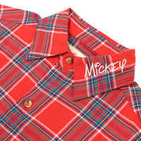Image of Mickey Mouse Flannel Shirt for Adults by Cakeworthy # 4