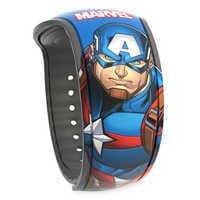 Image of Captain America MagicBand 2 # 1