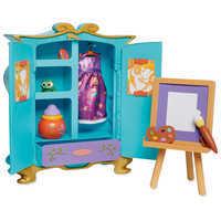 Image of Disney Animators' Collection Rapunzel's Artist Armoire Playset # 2