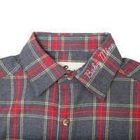 Image of Dumbo Flannel Shirt for Adults by Cakeworthy # 4