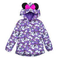 Image of Minnie Mouse Packable Rain Jacket and Attached Carry Bag for Kids # 1