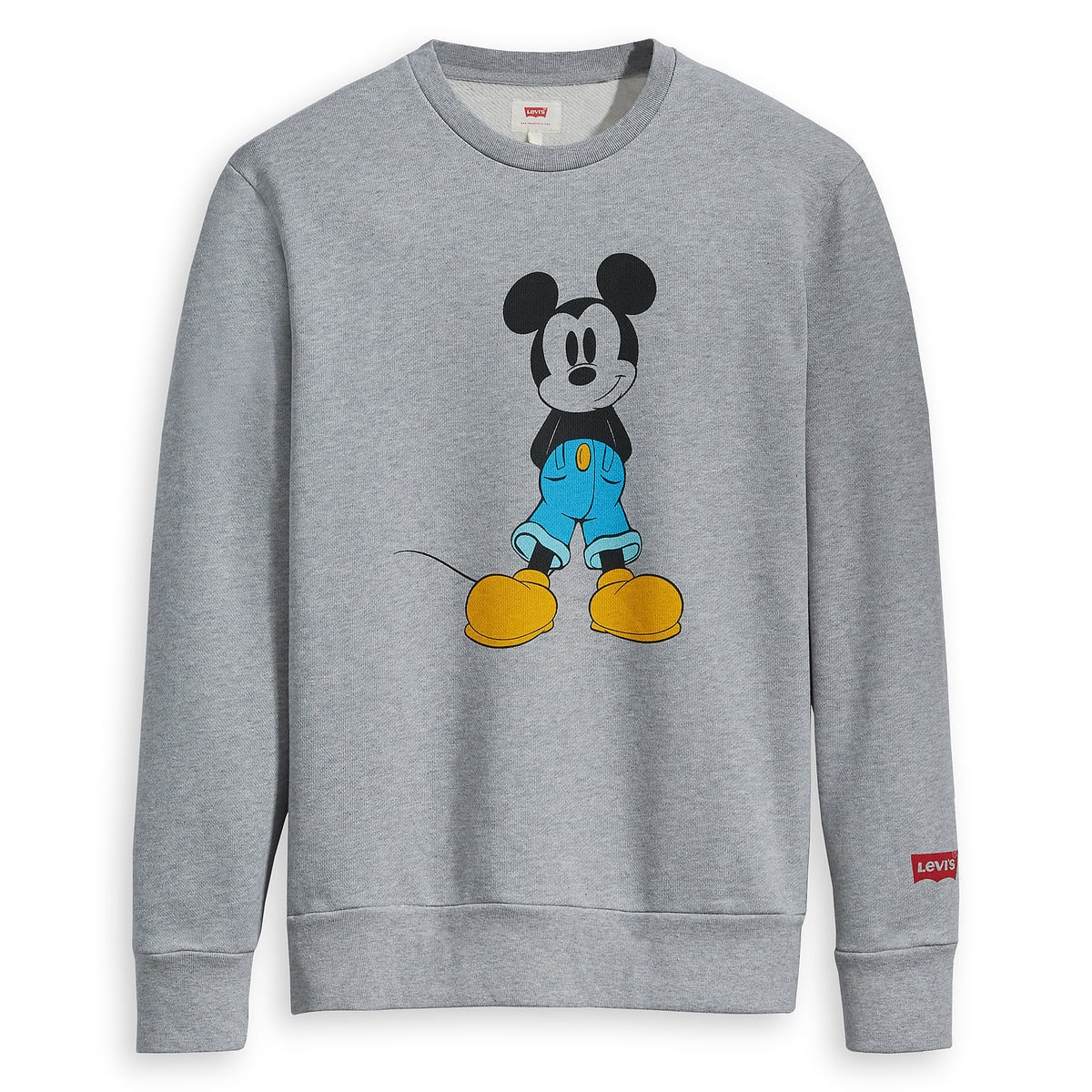 Product Image of Mickey Mouse Long Sleeve Sweatshirt for Men by Levi s   1 048f8e63932