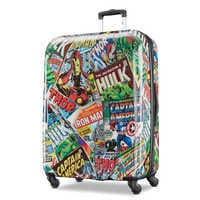 Image of Marvel Comics Rolling Luggage by American Tourister - Large # 1