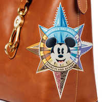 Image of Mickey Mouse Leather Bucket Tote by Dooney & Bourke - Disneyland # 3