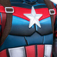 Image of Captain America Costume for Kids # 7