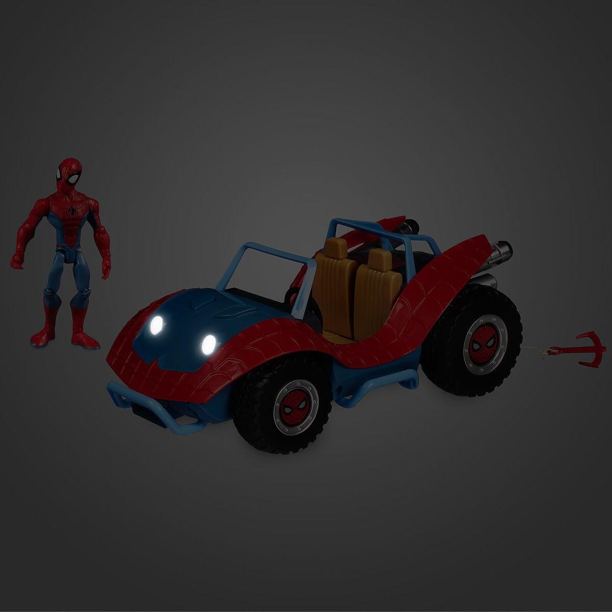Spider Man With Spider Mobile Playset Marvel Toybox Shopdisney
