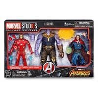 Image of Marvel's Avengers: Infinity War Action Figure Set - Legends Series - Marvel Studios 10th Anniversary # 2