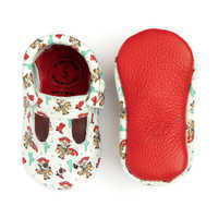Image of Jessie and Bullseye Mary Jane Moccasins for Baby by Freshly Picked # 2
