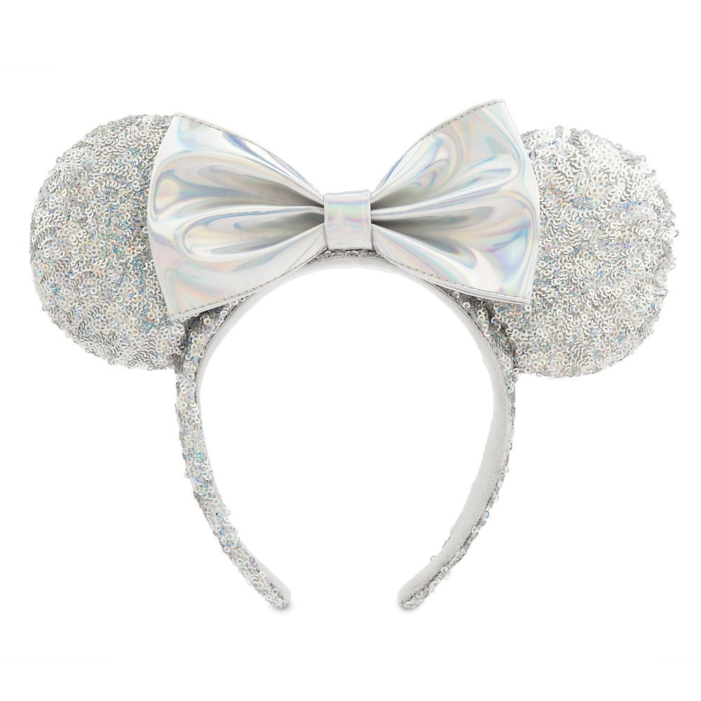 Minnie Mouse Sequined Ear Headband - Magic Mirror Metallic Official shopDisney