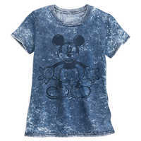 Image of Mickey Mouse Mineral Wash T-Shirt for Women # 1