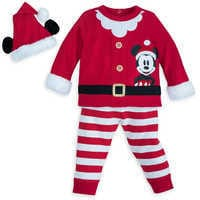 Image of Santa Mickey Mouse Set for Baby # 1