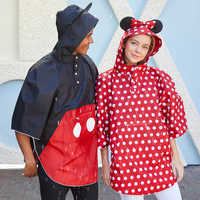 Image of Minnie Mouse Rain Poncho for Adults # 2