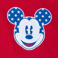 Image of Mickey Mouse Tie-Dye Americana Spirit Jersey for Adults # 4