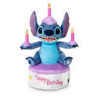 Image of Stitch Birthday Cake Light-Up Plush - Medium # 1