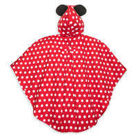 Image of Minnie Mouse Rain Poncho for Adults # 3