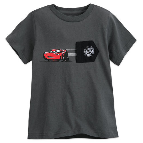 Lightning McQueen T-Shirt for Boys - Gray