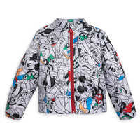 Image of Mickey Mouse and Friends Lightweight Puffy Jacket for Kids - Personalizable # 1