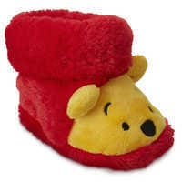 Image of Winnie the Pooh Plush Slippers for Baby # 1