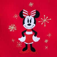 Image of Minnie Mouse Holiday Plaid PJ Set for Women - Personalizable # 3